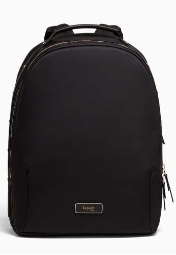 Lipault black Business Avenue Backpack -  Medium 0E902AC793B6D5GS_1