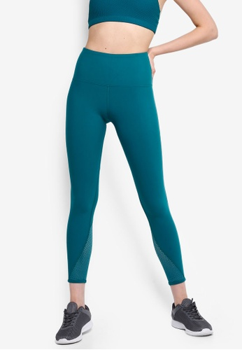 d87f0378655935 Lorna Jane green Fierce Booty Support Ankle Biter Tights 7E800AA8C94C6BGS_1