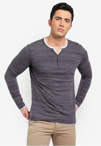 4ea2e2be2fc Shop ESPRIT Layered Henley T-Shirt Online on ZALORA Philippines