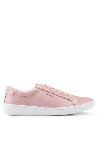 Keds pink Ace LTT Iridescent Leather Sneakers F890CSHD8B596AGS_1