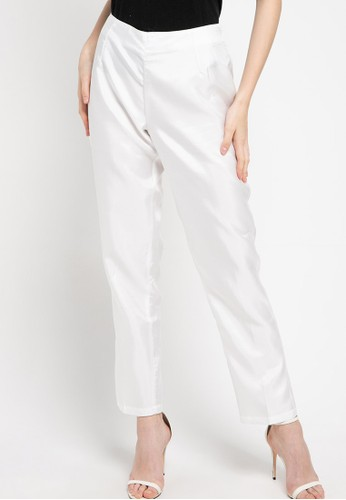 Chanira Festive Collection white Alana White Pant D34FEAA3E97C56GS_1