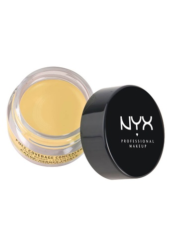 NYX Professional Makeup yellow NYX Professional Makeup Concealer In A Jar - YELLOW 87F0ABEC8266CFGS_1