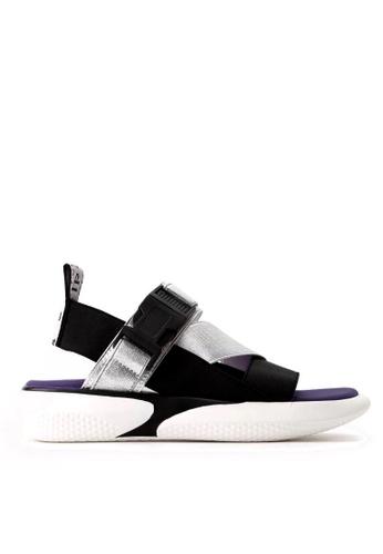 Twenty Eight Shoes silver Elastic Band Unique Platform Sandals VS1848 3624FSHFC90667GS_1