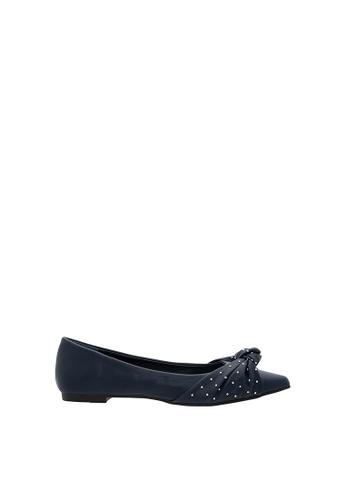 SEMBONIA blue Women Synthetic Leather Ballet Flat 79D84SHB9CC0E9GS_1