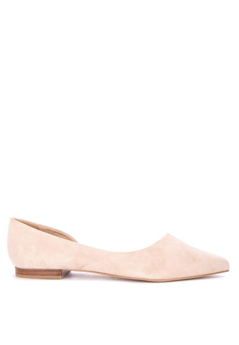 6eec27032732 Shop Steve Madden Audriana1 Pointed Toe Flats Online on ZALORA Philippines
