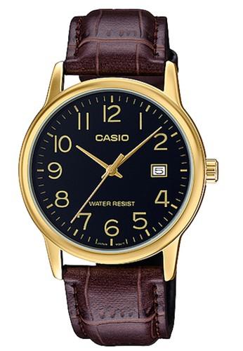Casio brown Casio Jam Tangan MTP-V002GL-1BUDF Coklat B08F9ACA215733GS_1