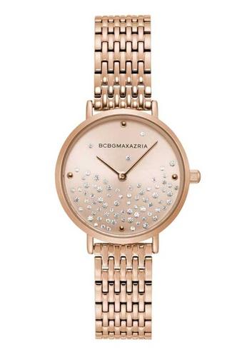 BCBG pink BCBGMAXAZRIA BG50990001 Rose Gold Stainless Steel Watch 87D21ACA05B03AGS_1
