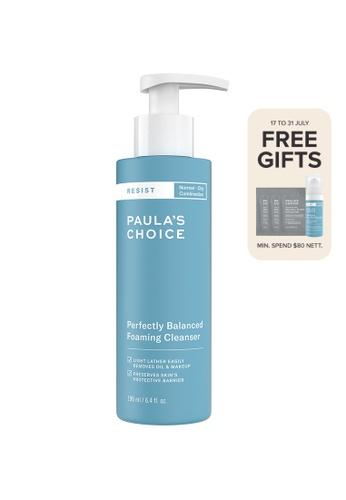 Paula's Choice blue Resist Perfectly Balanced Foaming Cleanser D9B2EBEB7B5A0BGS_1