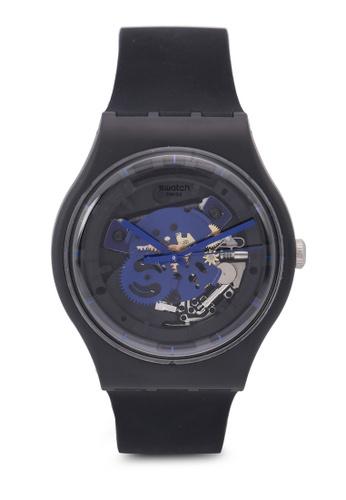 Swatch black Time To Blue Big Watch 81312AC44C2CC0GS_1