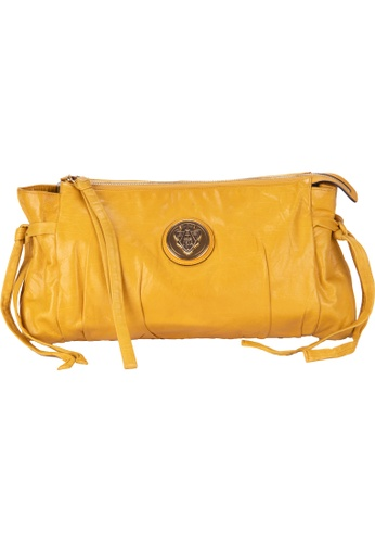 Gucci yellow GUCCI MUSTARD YELLOW LEATHER CLUTCH DAD83ACC0DFB08GS_1