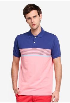 6717166b2e84 GAP pink Stripe Pique Polo Shirt DC03EAA0D1E02CGS_1