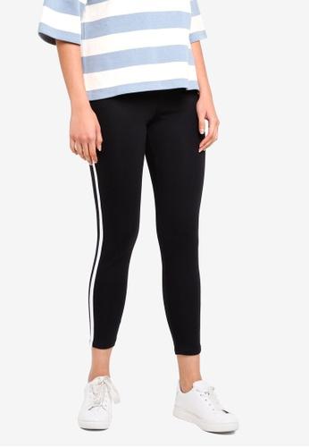ESPRIT black Regular Knitted Pants AB998AADC924F1GS_1