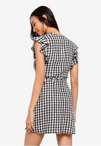 6c2e0e1a1d8 Buy TOPSHOP Linen Ruffle Wrap Online