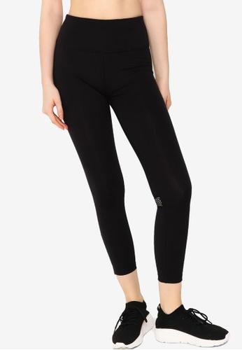 Lorna Jane black Zip & Go Ankle Biter Tights B1B43AA16698A0GS_1