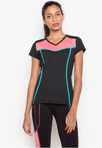 Sassa black Tribal Sports T-Shirt SA329AA0K3MLPH_1