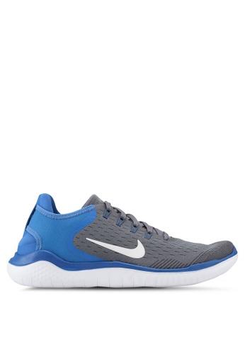 Nike grey Nike Free Rn 2018 Shoes 2F530SH27207E7GS_1