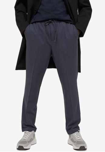H&M blue Slim Fit Joggers 9C2CAAA197B382GS_1