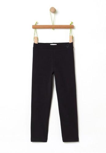 OVS black Basic Stretch Leggings 22A91KA0AB07D6GS_1