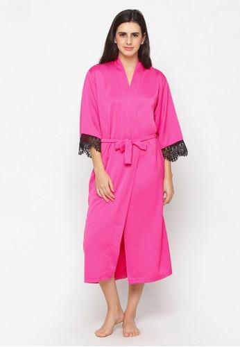 Impression pink Kimono Lace Dilla 9026 B7152AA5DD668BGS_1