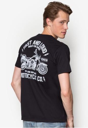 重型機車設計TEE, 服zalora時尚購物網的koumi koumi飾, 服飾