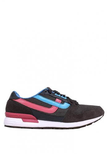World Balance grey Freedom Blaze L Sneakers AD090SHE8AEBFCGS_1
