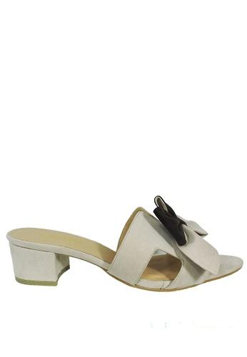 Jacque beige Azura Beige Low Heel JA262SH98WMVMY_1