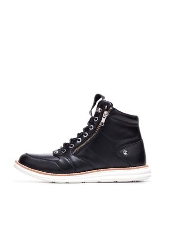 Dark Knigzalora 折扣碼ht皮革短靴, 鞋, 靴子
