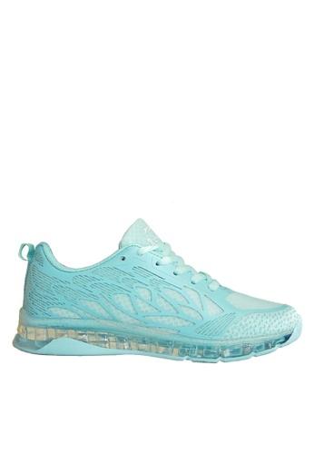 Twenty Eight Shoes 藍色 水晶底運動鞋 VT701 93C6FSHCFAF7BFGS_1