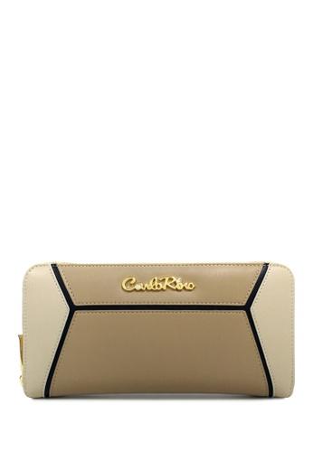 Carlo Rino beige Carlo Rino 0303841-501-05 Zip around wallet CA220AC0RF42MY_1