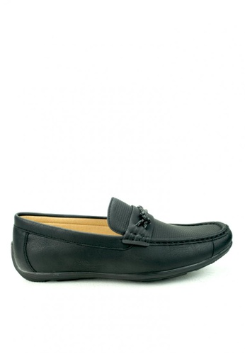 Cardam's Lifestyle black Oakes Loafers Shoes CA993SH07DMEPH_1