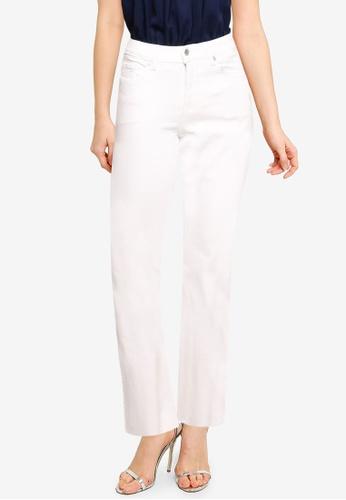 Mango white Flare Bottom Jeans 09773AABB88932GS_1