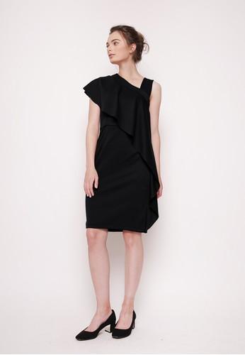 MILLE black Carmen Dress Black B9BE6AA0A8E532GS_1