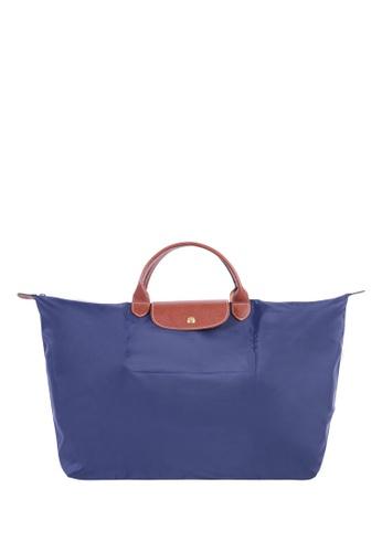 LONGCHAMP blue Le Pliage Large Travel Bag 4E630ACD5C3F83GS_1