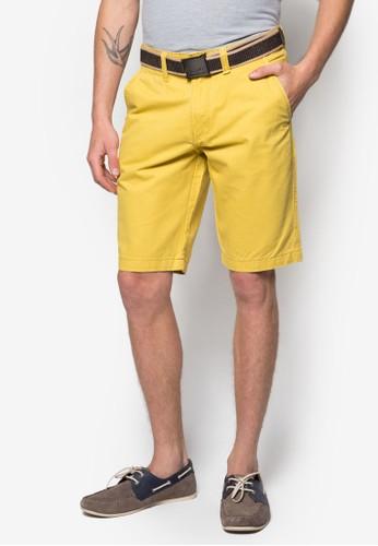 腰帶休閒短褲, 服飾, 服esprit hk分店飾