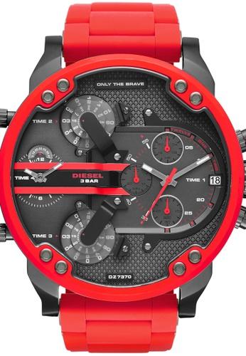 Diesel red The Daddies Series Watch DZ7370 CFDCFACD962508GS_1
