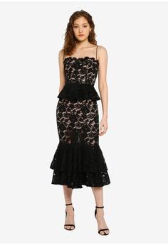 615563e5058d JARLO LONDON black Daphne Dress AB0A2AA167C147GS_1