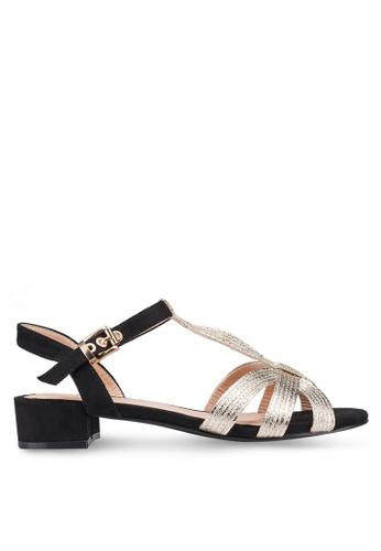 0505a33e80c Shop carlton london low heel sandals online on zalora philippines jpg  346x500 Black low heel sandals