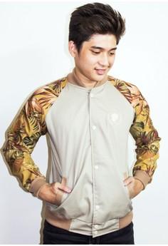 Khaki Floral Jacket
