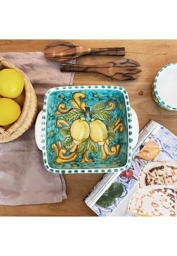 Living DNA Lemon Ceramic Casserole Dish Turquoise 305D7HLD0A6CD8GS_1