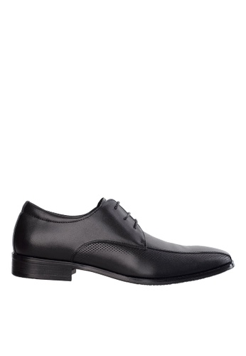 Obermain black Obermain Men's Kurt Lace Up Dress Shoe - Black F1922SH7E70276GS_1