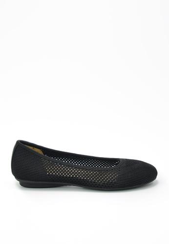 Twenty Eight Shoes black Knit Flats JD20 37AE9SH0E381BEGS_1