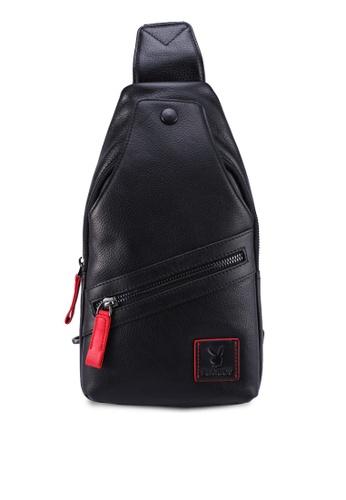 Playboy black Chest Bag 990E1AC219379CGS_1