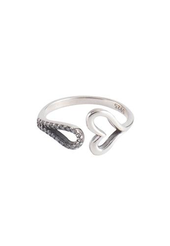 OrBeing white Premium S925 Sliver Geometric Ring ABBA6AC4E1870CGS_1