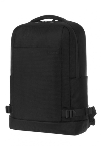 American Tourister black American Tourister Milton Backpack 744E7AC6F1ED1EGS_1