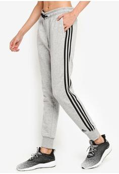 7d9c05b050ae7e adidas grey adidas w mh 3 stripe french terry pant 8FCE8AABE12C02GS_1