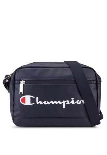 champion navy Japan Range Zip-Top Horizontal Shoulder Bag BCF6CACEC57A39GS_1