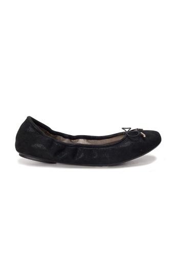 Shu Talk 黑色 AMAZTEP 全新貼腳柔軟真皮芭蕾舞鞋 4A5E0SH5FEBBFDGS_1