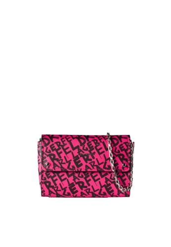 KARL LAGERFELD pink K/Ikon Graffiti Poc 24F59AC73730FEGS_1