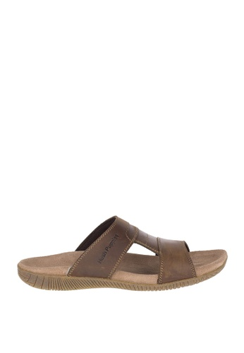 Hush Puppies brown Mutt Slide M A79E8SH0F3B4F9GS_1