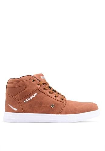 Rocklander brown Matarazo Sneakers 609DFSH7F2BF07GS_1